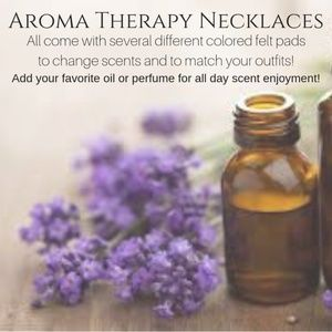 Aroma Diffuser Therapy Necklaces